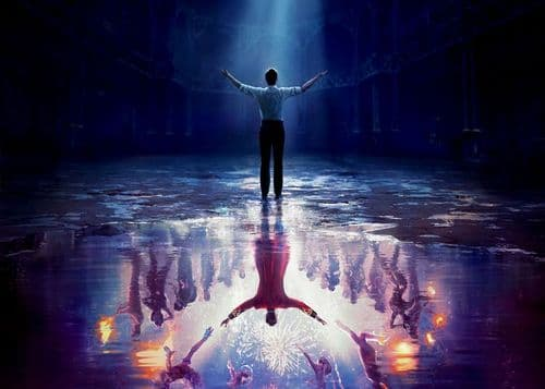 2010's Movie - THE GREATEST SHOWMAN - REFLECTIVE PAINT / canvas print - self adhesive poster - photo