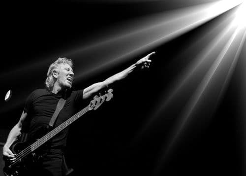 PINK FLOYD - ROGER WATERS - LIGHT canvas print - self adhesive poster - photo print
