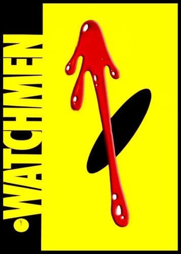 WATCHMEN - COVER STYLE ART canvas print - self adhesive poster - photo print
