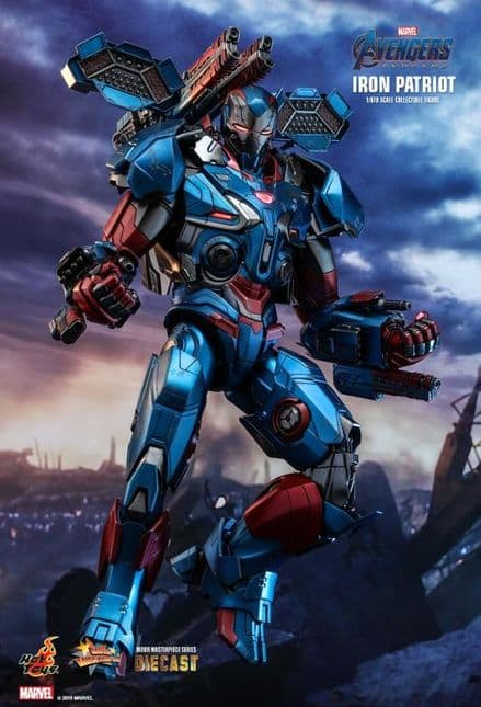 *Pre Order* Hot Toys 1:6 Marvel Avengers Endgame Iron Patriot - DIECAST