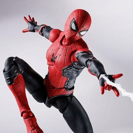 Bandai S.H. Figuarts Spider-Man: No Way Home Upgraded Suit Spider-Man Action Figure