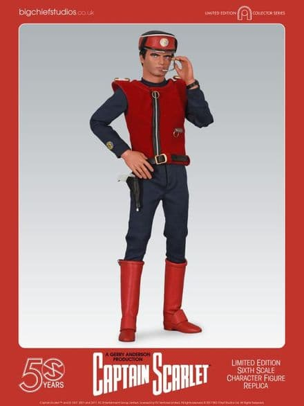 Big Chief Studios Captain Scarlet 50th Anniversary Limited Edition 1:6 Scale Figure