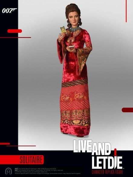 Big Chief Studios Live And Let Die Solitaire 1:6 Scale Figure