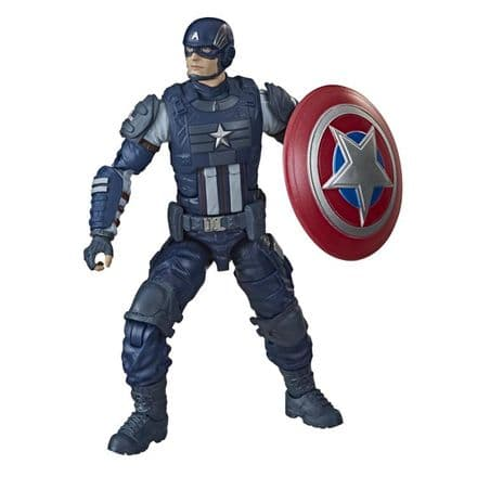 Hasbro Marvel Legends Avengers Video Game Captain America Action Figure (Abomination BAF)