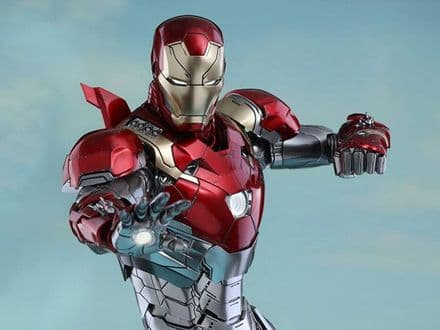 Hot Toys MMS427D19 Spider-Man: Homecoming Iron Man (Mark XLVII) 1/6th Scale Collectable Figure