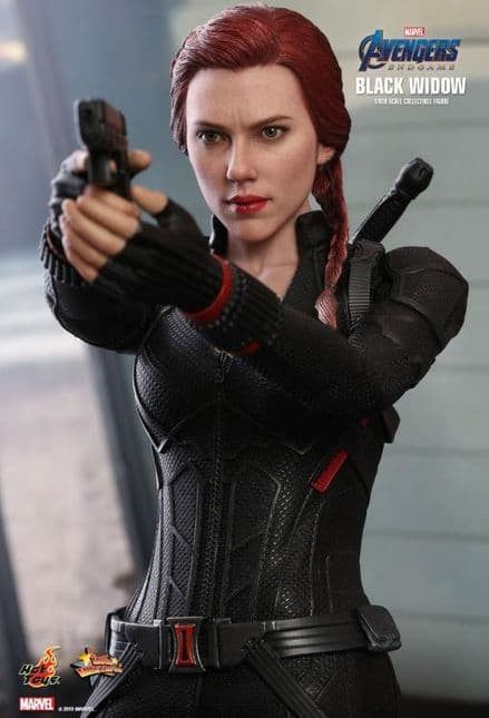 Hot Toys MMS533 Marvel Avengers: Endgame Black Widow 1/6 Scale Collectable Figure