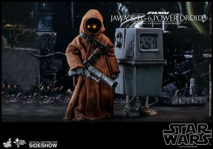 Hot Toys MMS554 Star Wars Jawa& EG-6 Power Droid 1/6 Scale Figure 2-Pack