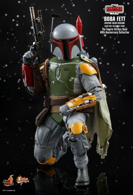 Hot Toys MMS571 Star Wars: The Empire Strikes Back Boba Fett (Vintage Colour) 1/6 Scale Figure