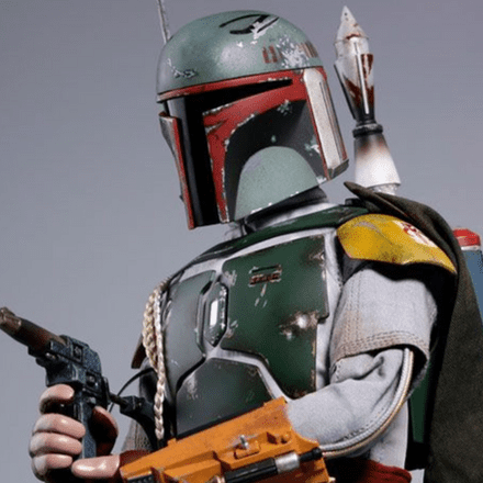 Hot Toys MMS574 Star Wars: The Empire Strikes Back 40th Anniversary Boba Fett 1/6th Scale Figure