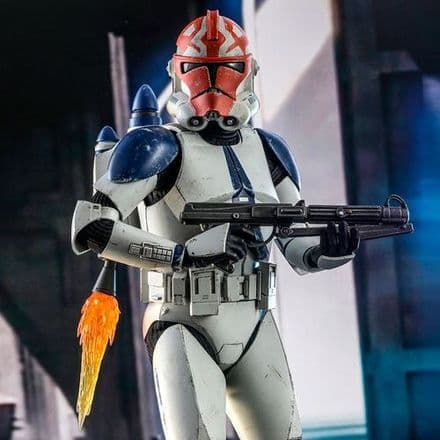 Hot Toys TMS023 Star Wars: The Clone Wars 501st Battalion Clone Trooper (Deluxe) 1/6th Scale Figure