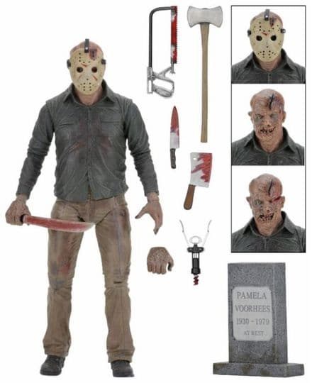 NECA Friday the 13th The Final Chapter Ultimate Jason Action Figure