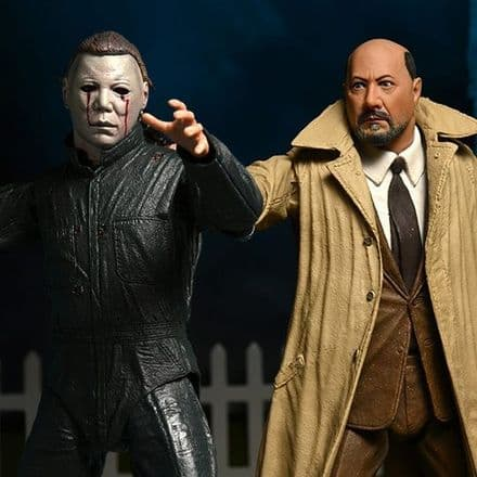NECA Halloween 2 Ultimate Michael Myers & Dr. Loomis Action Figure 2-Pack