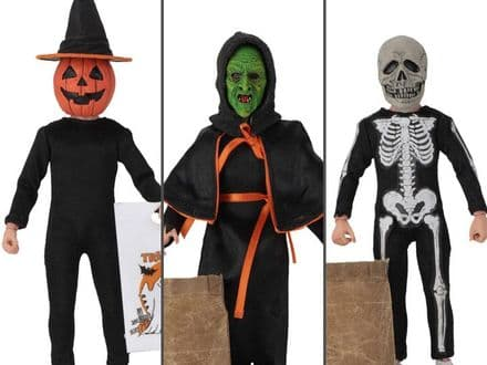 "NECA Halloween III: Season of the Witch 8"" Clothed Action Figure 3-Pack"