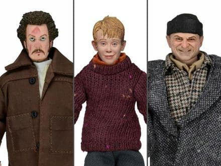 NECA Home Alone Action Figure 3-Pack (Kevin, Harry, & Marv)