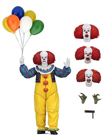 NECA Stephen King's It 1990 Action Figure Ultimate Pennywise 18 cm