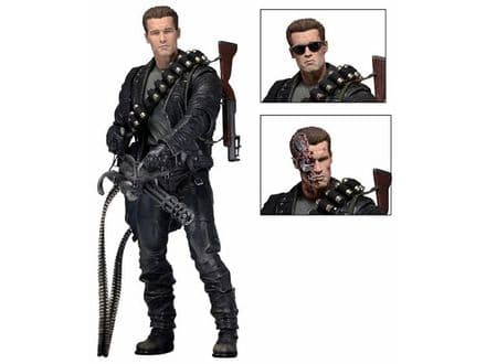 NECA Terminator 2: Judgement Day Ultimate T-800 Action Figure