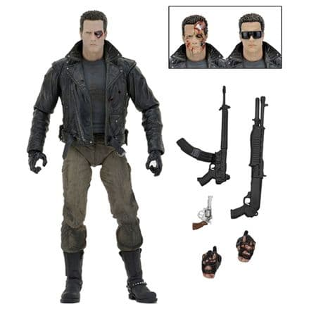 NECA Terminator Ultimate T-800 (Police Station Assault) Action Figure