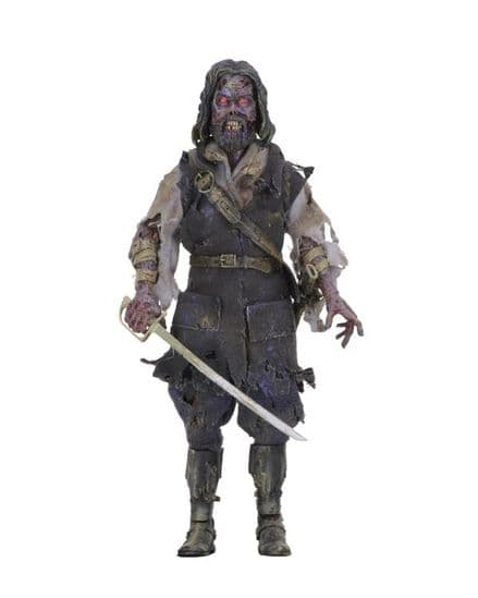 """NECA The Fog Captain Blake 8"""" Clothed Action Figure"""