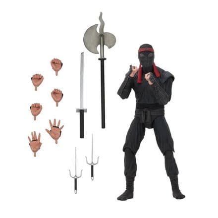 "NECA TMNT Movie 7"" Foot Soldier Action Figure (Bladed Weapons)"