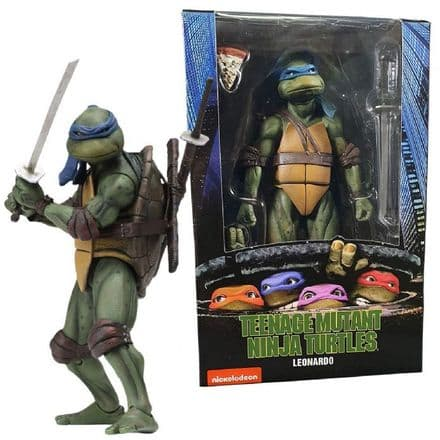 "NECA TMNT Movie 7"" Leonardo (Teenage Mutant Ninja Turtles)"
