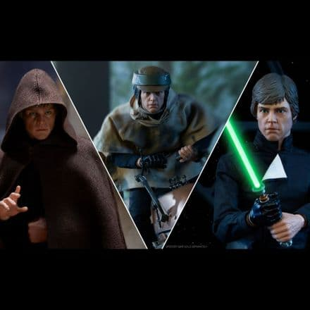 Sideshow Collectibles Return of the Jedi Deluxe Luke Skywalker 1/6 Scale Figure