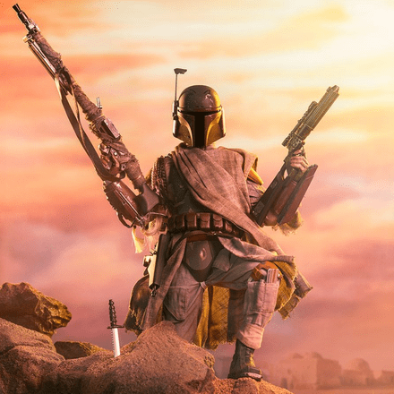 Sideshow Collectibles Star Wars Mythos Boba Fett 1/6 Scale Figure