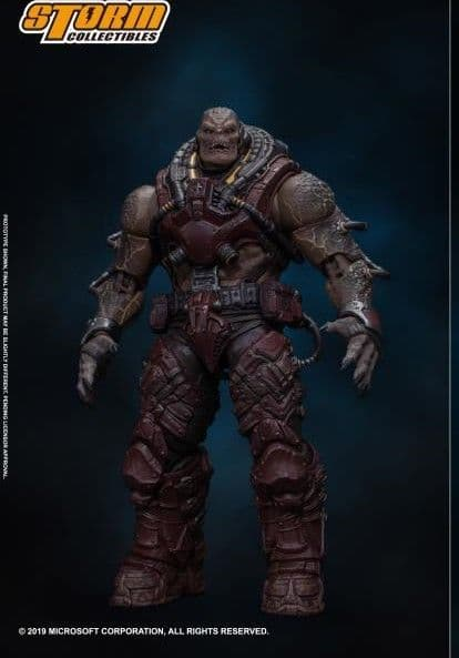 Storm Collectibles Gears of War 1/12 Scale Locust Disciple Action Figure