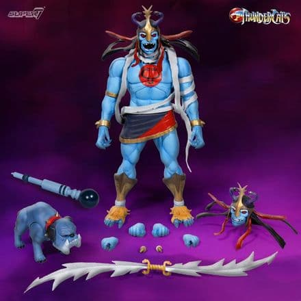 Super7 ThunderCats Ultimates Mumm-Ra the Ever-Living & Ma-Mutt Action Figure 2-Pack