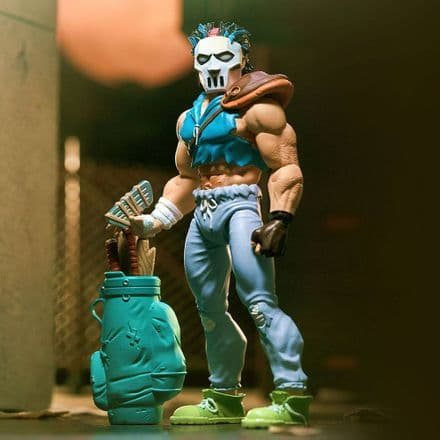 Super7 TMNT Ultimates Casey Jones Action Figure (Teenage Mutant Ninja Turtles)