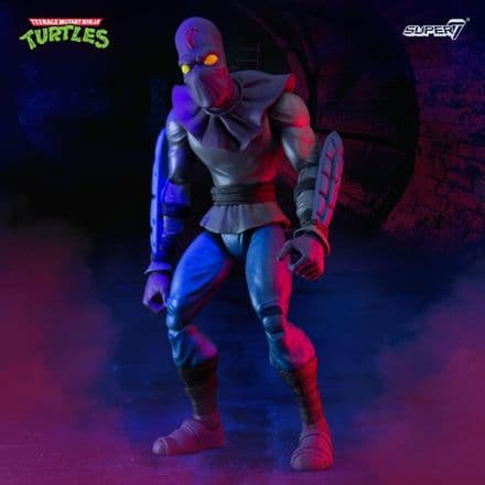 Super7 TMNT Ultimates Foot Soldier Action Figure (Teenage Mutant Ninja Turtles)