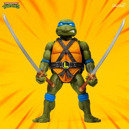 Super7 TMNT Ultimates Leonardo Action Figure (Teenage Mutant Ninja Turtles)