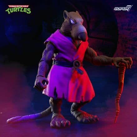 Super7 TMNT Ultimates Splinter Action Figure (Teenage Mutant Ninja Turtles)