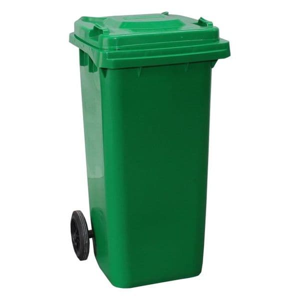 120lt Coloured Wheelie Bin