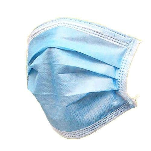 3ply Disposable Face Masks - 50 pack