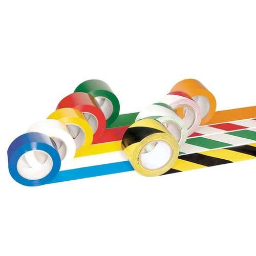 50mm & 75mm Self-Adhesive Floor Marking Tape
