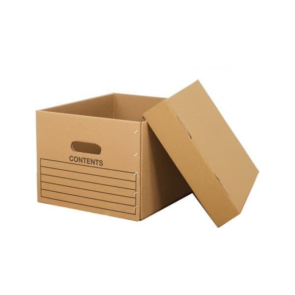 Anco Heavy Duty Archive Boxes & Lids (Pack of 10)