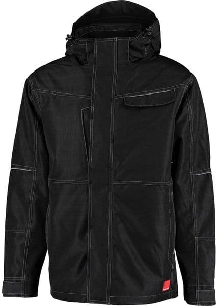Ballyclare 365 Workwear Unisex Waterproof Winter Jacket with Removable Hood