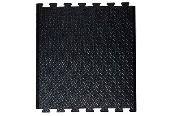 Blue Diamond Interlocking Rubber Matting