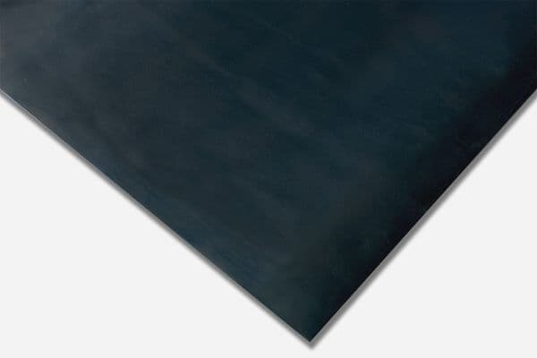 Blue Diamond Plate Finish Rubber Matting