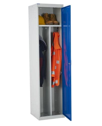 Clean and Dirty Work Wear Compartment Lockers