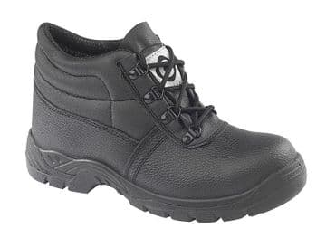 Contractor 100 Black Chukka Safety Boots S1 SRC
