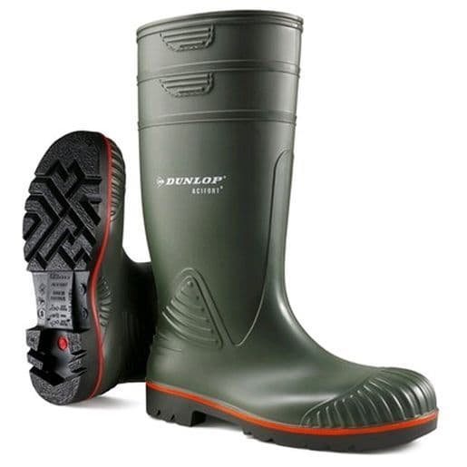 Dunlop Acifort Heavy Duty Full Safety Wellingtons S5