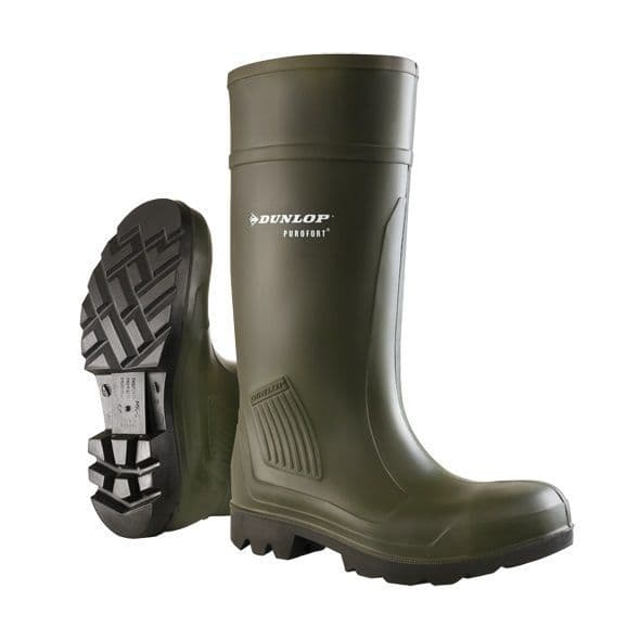 Dunlop Purofort Professional Full Safety Wellingtons S5 CI CR SRC