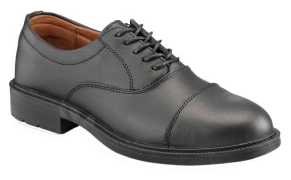 Executive S207 Black Oxford Safety Shoes S1 SRC