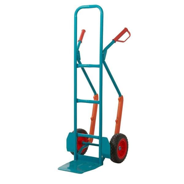 High Back Sack Truck with REACH Compliant Wheels - 300kg Capacity