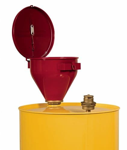 Justrite Safety Drum Funnel for Flammable Substances