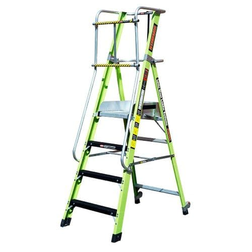 Little Giant Mighty Lite Fibreglass Step Ladders