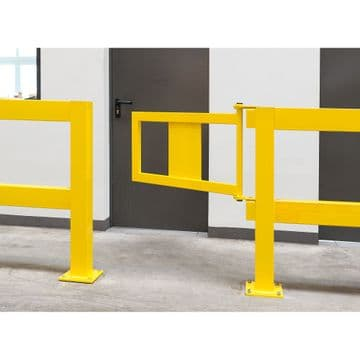 Manual Gate for Impact Protection Railing System