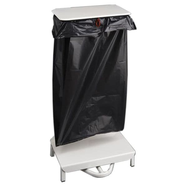 Metal Freestanding Sack Holder Bin