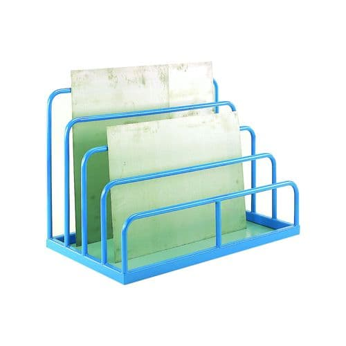 Multi Height Storage Rack for Sheet Metal / Glass